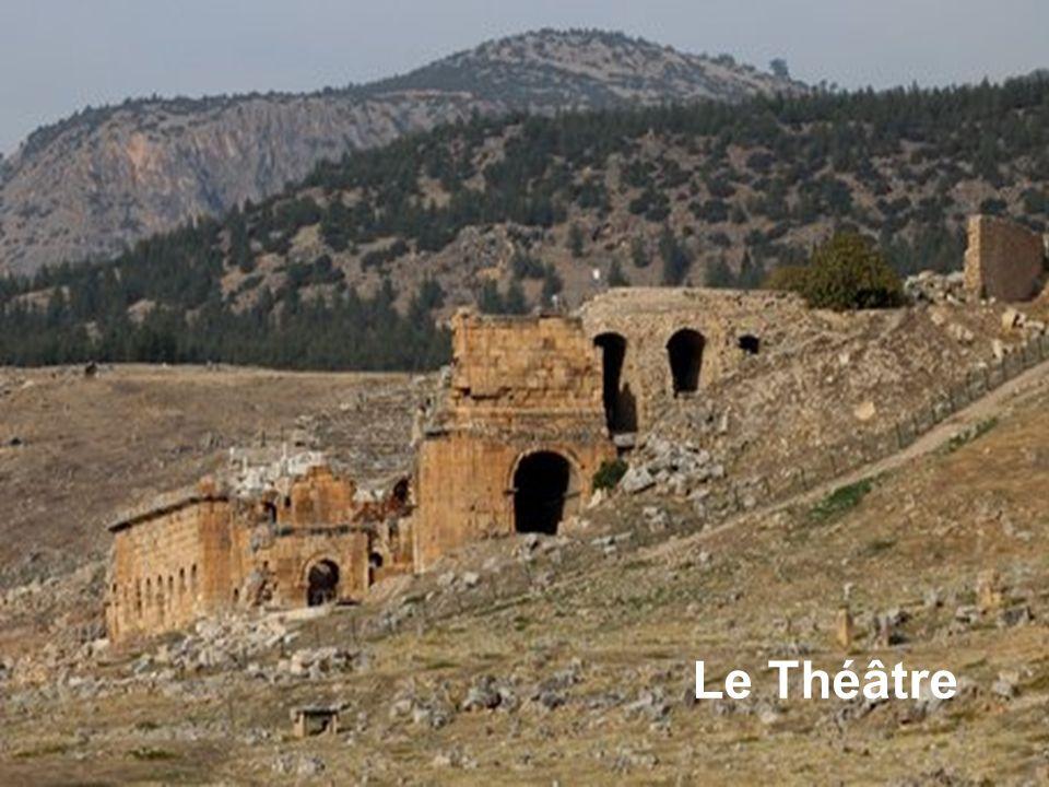 Porte dentrée du site Romain