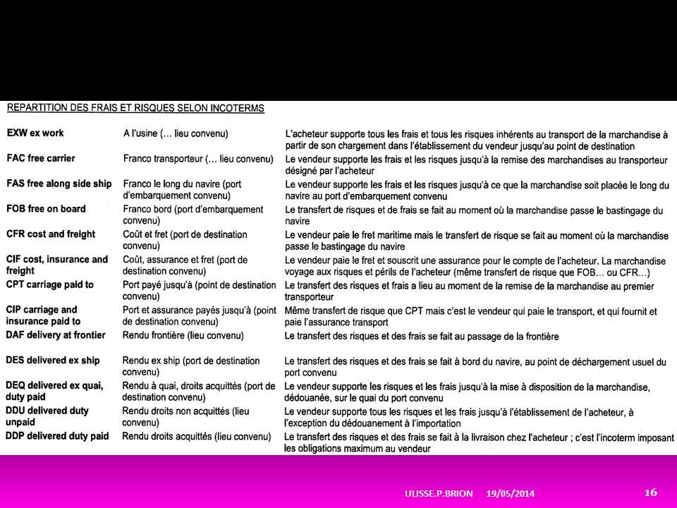 19/05/2014ULISSE.P.BRION 16