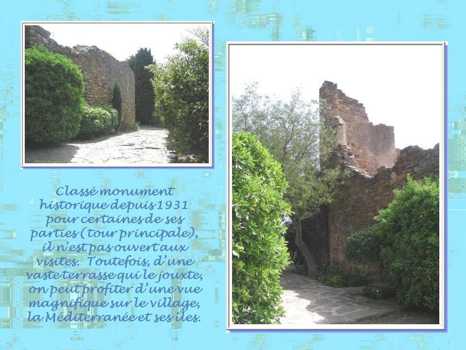 Le château des seigneurs de Fos, construit aux XIIIe et XIVe siècles, rappelle le passage et le règne des Comtes de Provence.