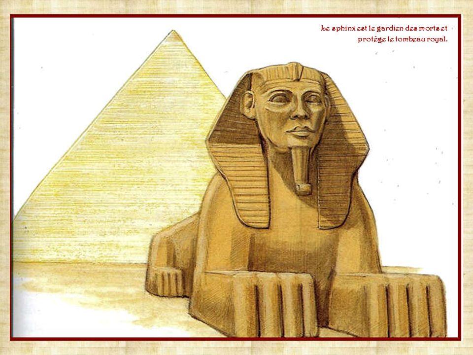 Isis et Horus Osiris Isis, épouse dOsiris et mère dHorus, protège la famille et les enfants. Parfois représentée avec des cornes de vache, elle donne
