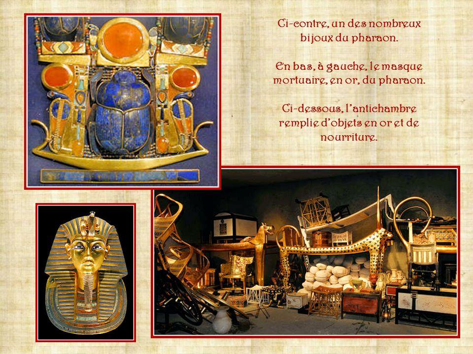 En 1922, langlais Howard Carter, découvre la tombe de Toutankhamon. Cette trouvaille stupéfie aussi bien les égyptologues que le grand public tellemen