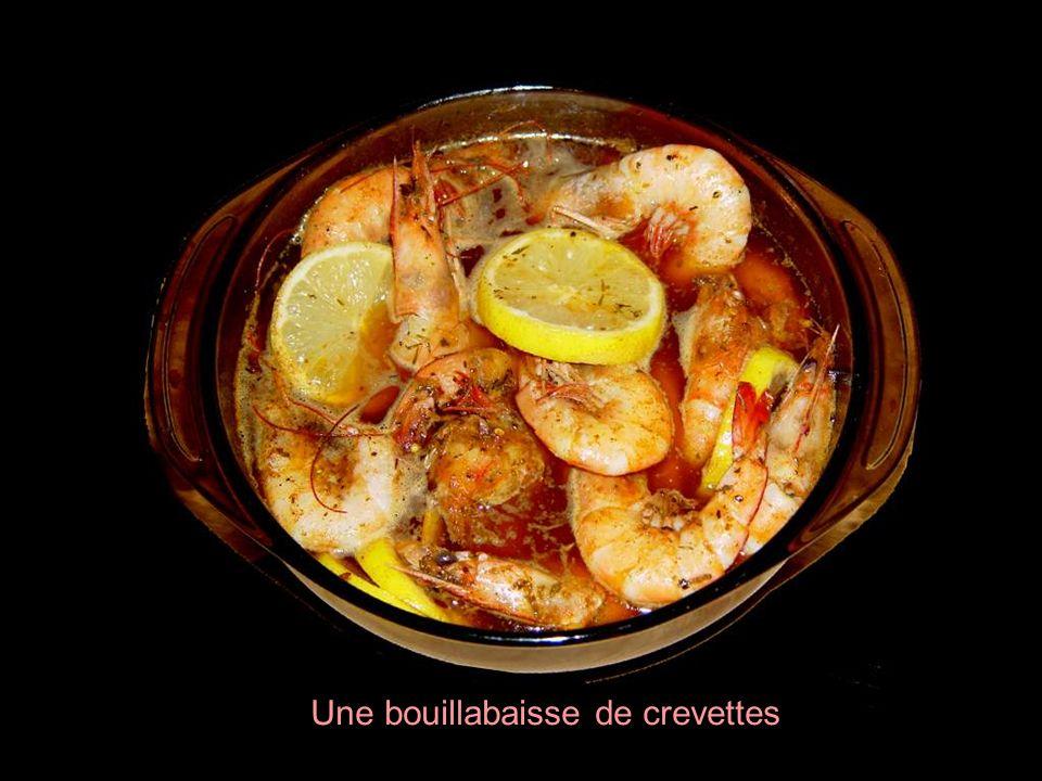 La crevette est riche en vitamine B12 et en niacine.