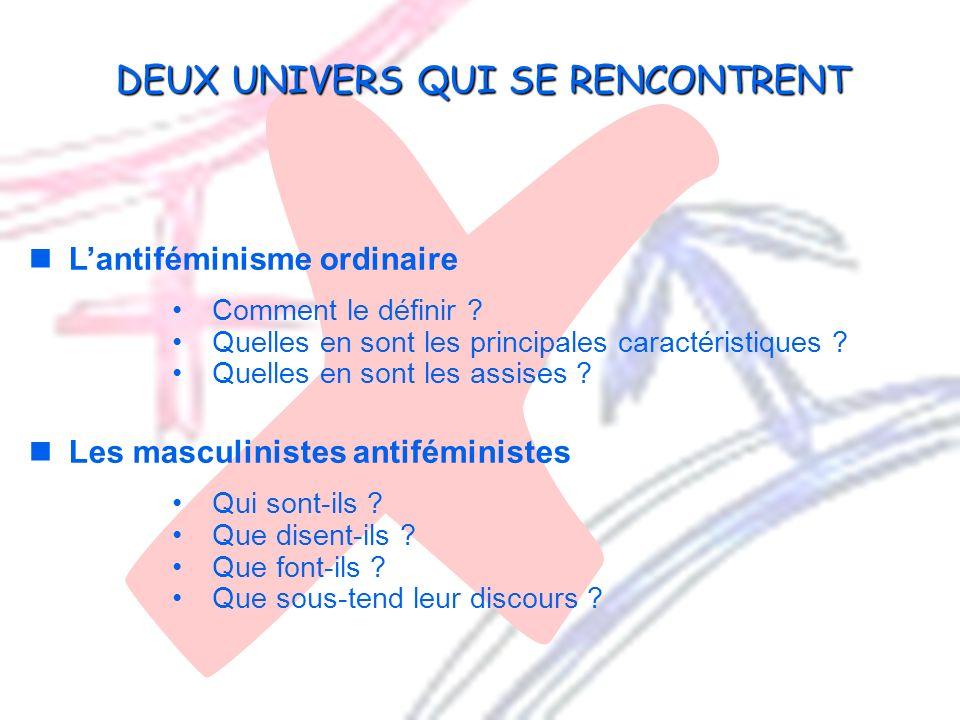 Copyright Francine Descarries, 2009 Lantiféminisme ordinaire Comment le définir ? Quelles en sont les principales caractéristiques ? Quelles en sont l