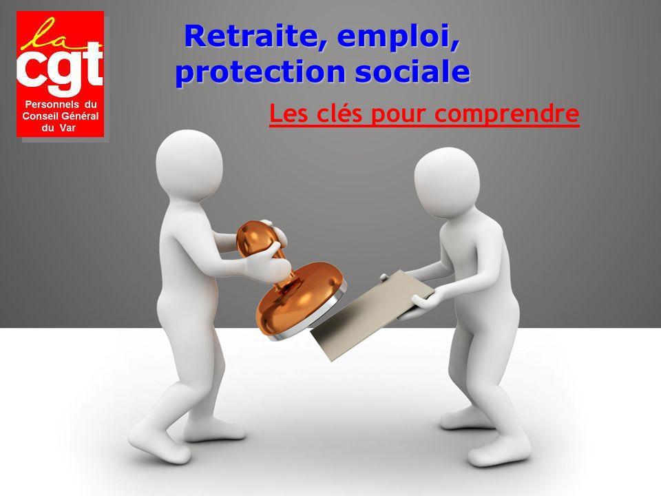 Retraite, emploi, protection sociale Les clés pour comprendre
