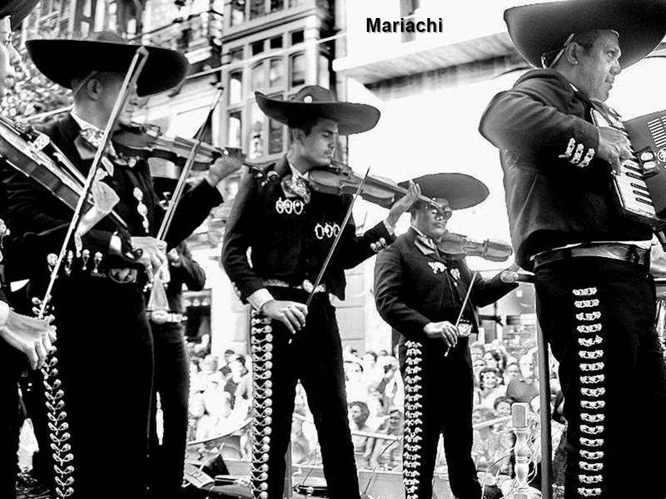 Musique mexicaine. Le terme de mariachi désigne tout à la fois un type de formation musicale originaire du Mexique, le style de musique associé, et un