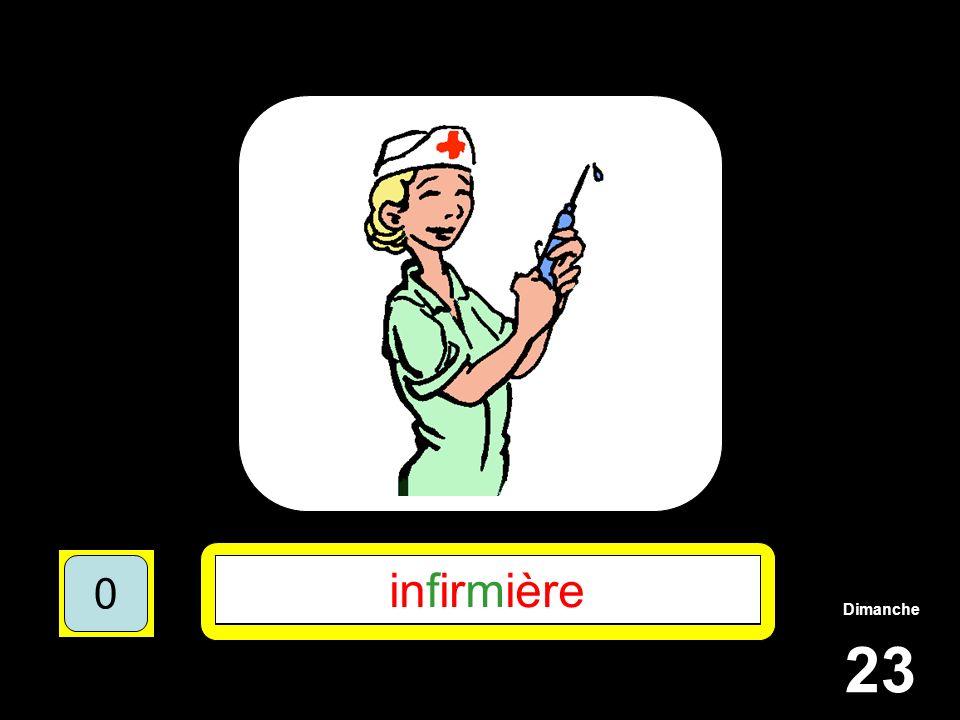 Dimanche 23 1510515 ********** 15105 **F**M**** 151055 INFIRMIERE 151050 infirmière 151050