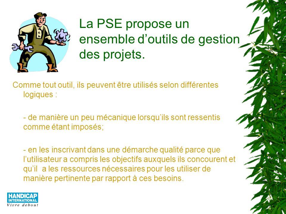 La PSE (3) Cette troisième présentation sur la PSE souligne toute limportance de ce type de processus par rapport à certains enjeux de laide au développement et de laction humanitaire Version 1 - Avril 2003