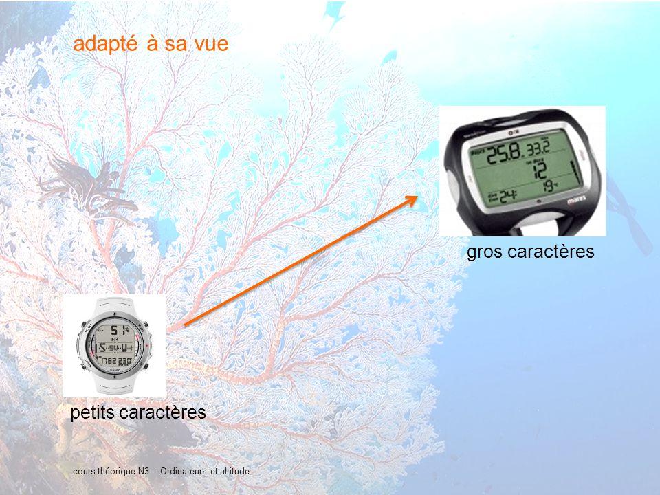 16 interne Orange cours théorique N3 – Ordinateurs et altitude adapté à sa vue petits caractères gros caractères