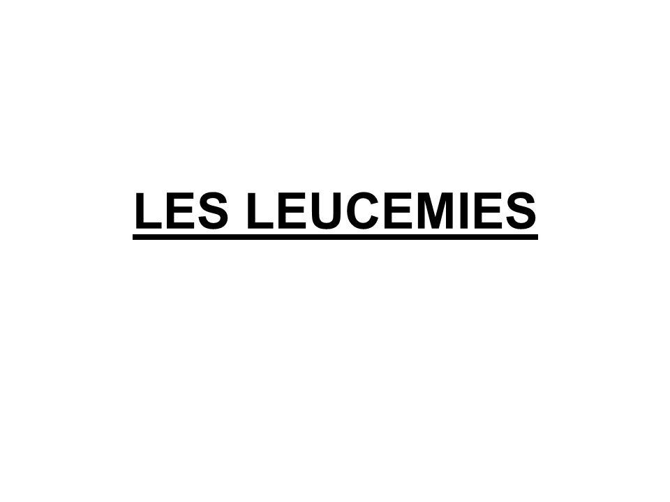 Que veut dire « leucémie » La leucémie : du grec leukos : blanc, et haima :sang