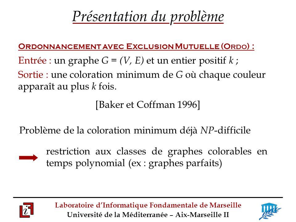 Laboratoire dInformatique Fondamentale de Marseille Université de la Méditerranée – Aix-Marseille II g.