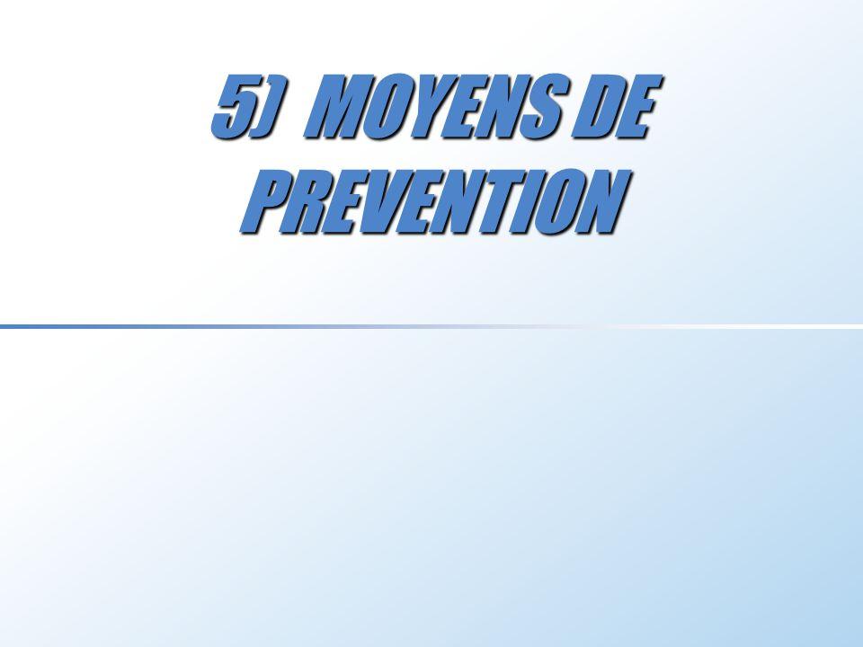 5) MOYENS DE PREVENTION