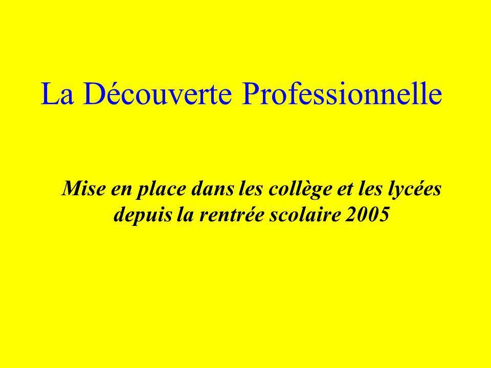* Enquêtes auprès de professionnels * Exposés sur des métiers, des activités professionnelles… * Enquêtes à partir de documents sur les diplômes et formations.