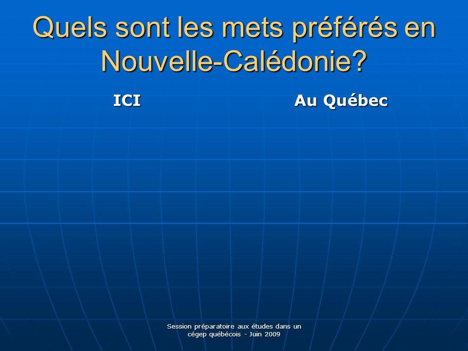SERVICES BANCAIRES Session préparatoire aux études dans un cégep québécois - Juin 2009
