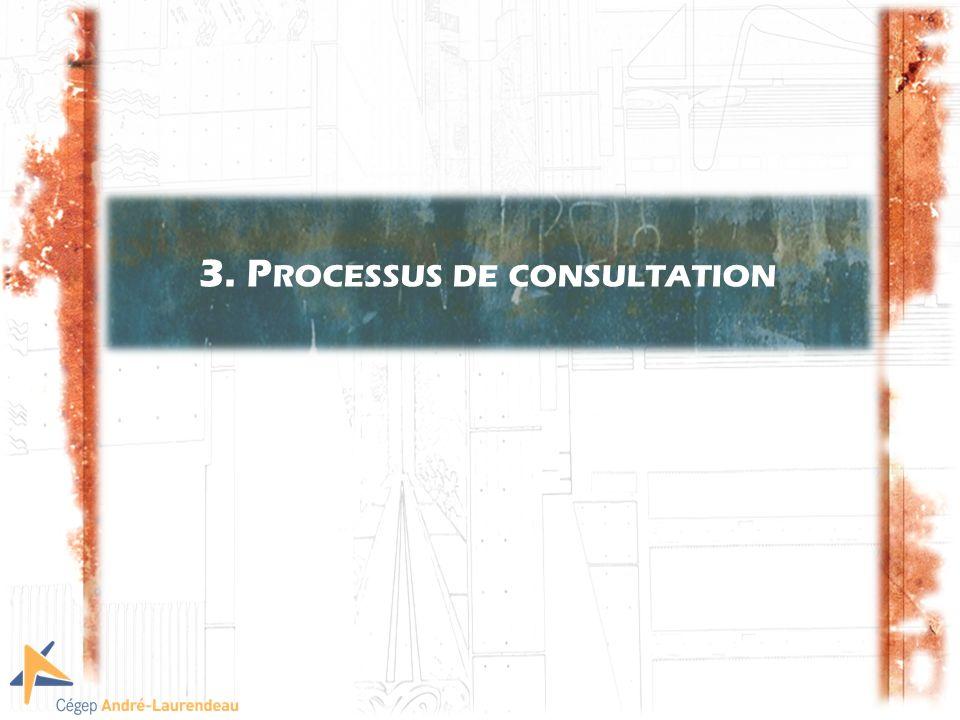 3. P ROCESSUS DE CONSULTATION