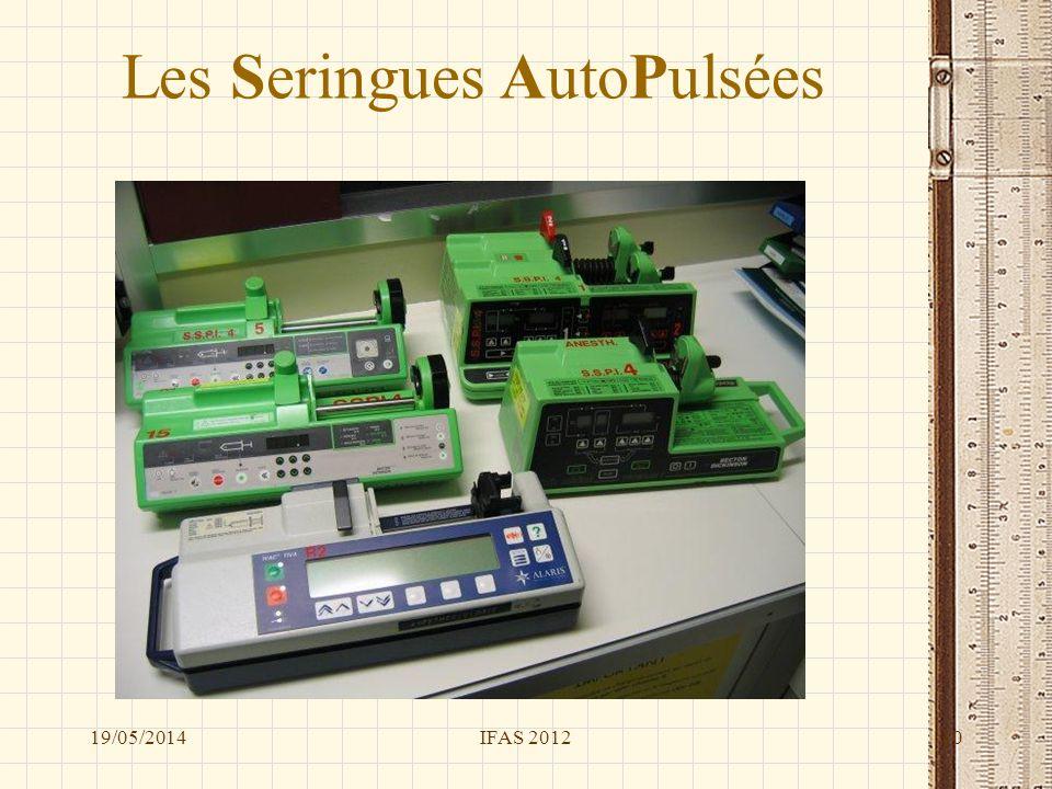 Les Seringues AutoPulsées 19/05/2014IFAS 201210