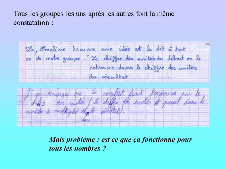 1ère méthode : calculer à la main Méthode peu utilisée pour les grands nombres… Attention à lécriture mathématique …