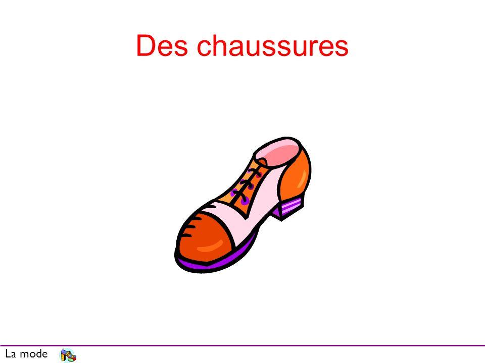 Des chaussures La mode