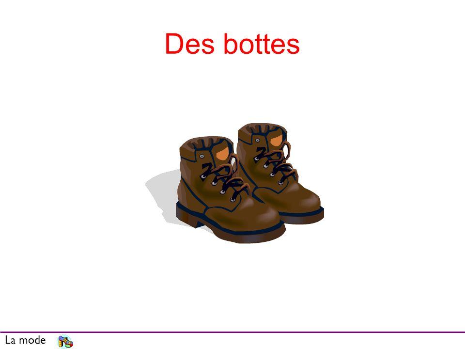Des bottes La mode