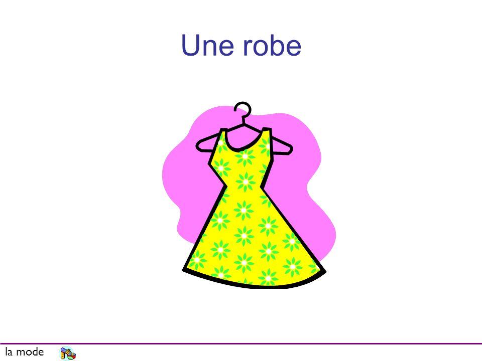 Une robe la mode