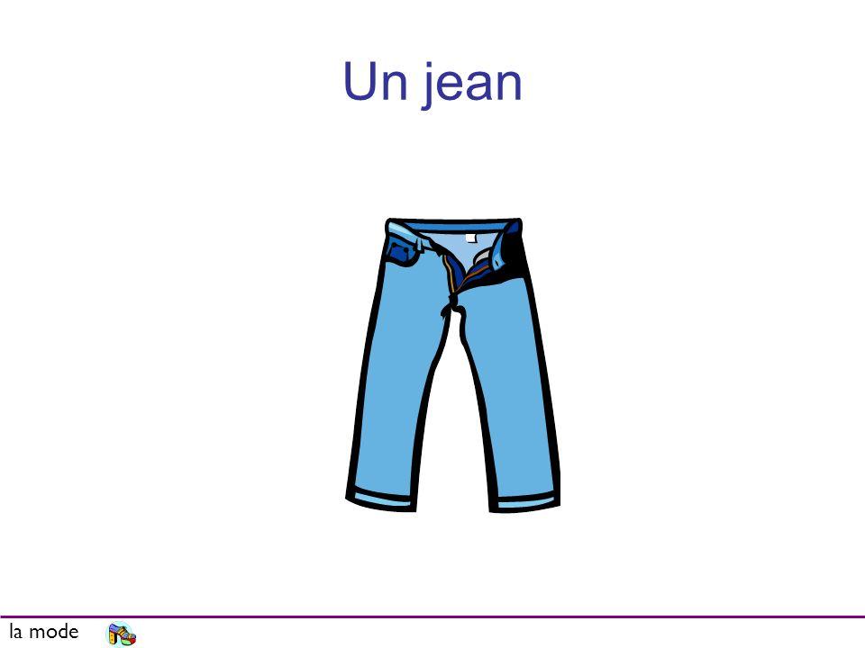Un jean la mode