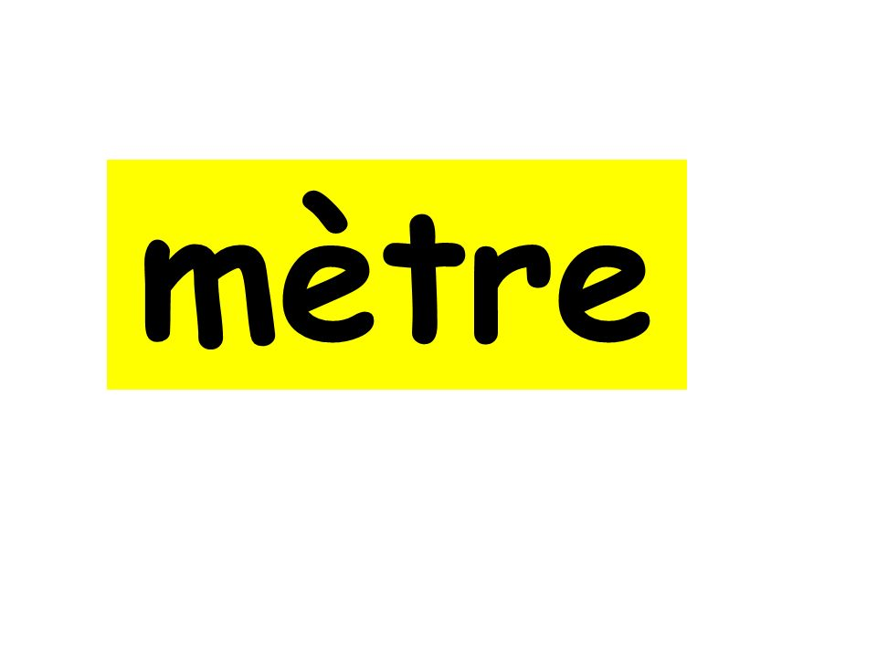mètre