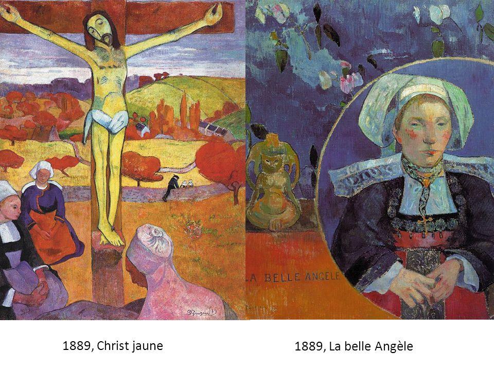 1889, Christ jaune 1889, La belle Angèle