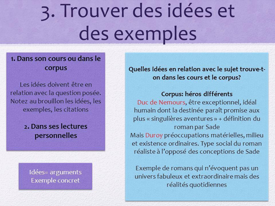 plan de la dissertation exemple