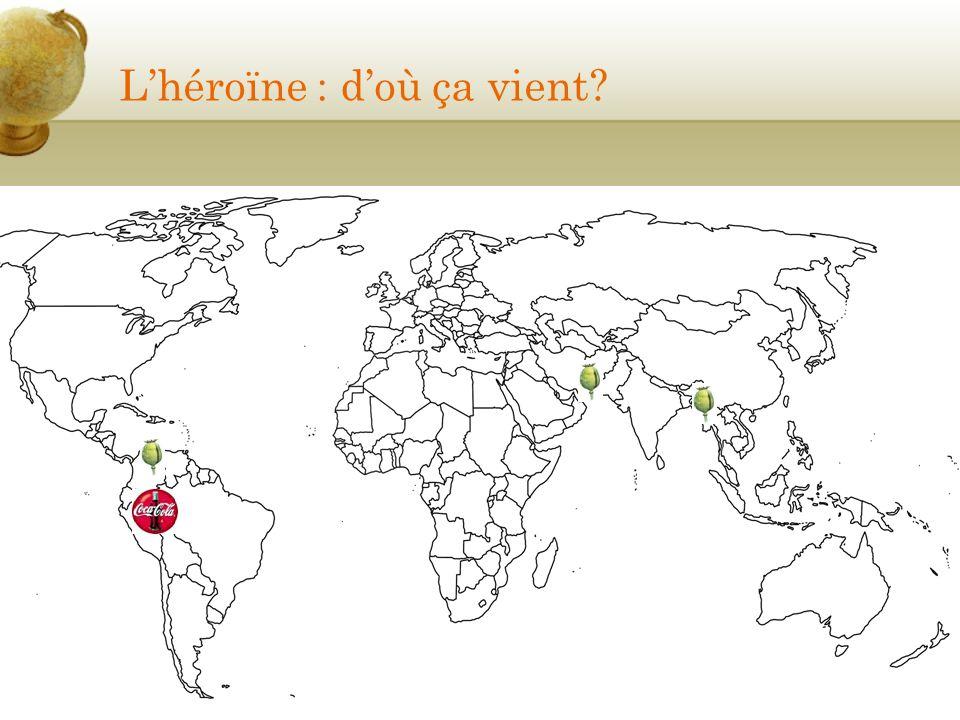 Lhéroïne : doù ça vient?