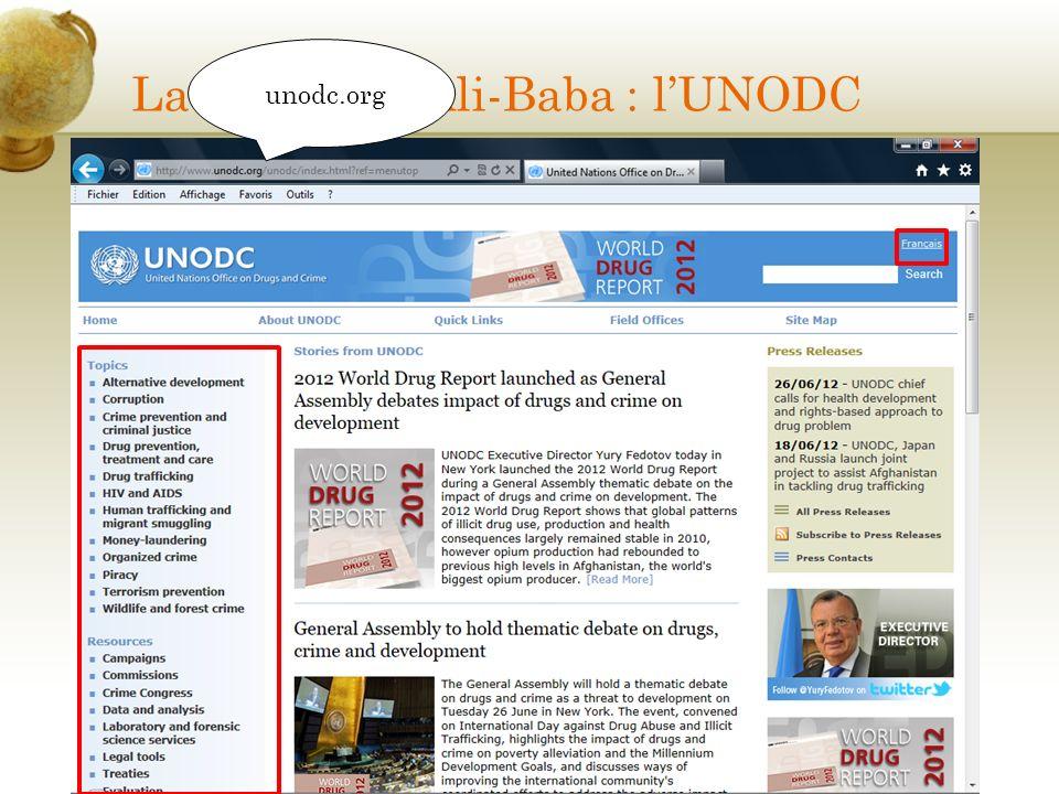La caverne dAli-Baba : lUNODC unodc.org
