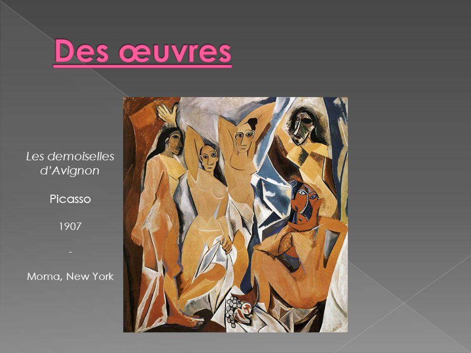 Les demoiselles dAvignon Picasso 1907 - Moma, New York