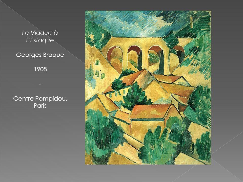 Le Viaduc à L'Estaque Georges Braque 1908 - Centre Pompidou, Paris