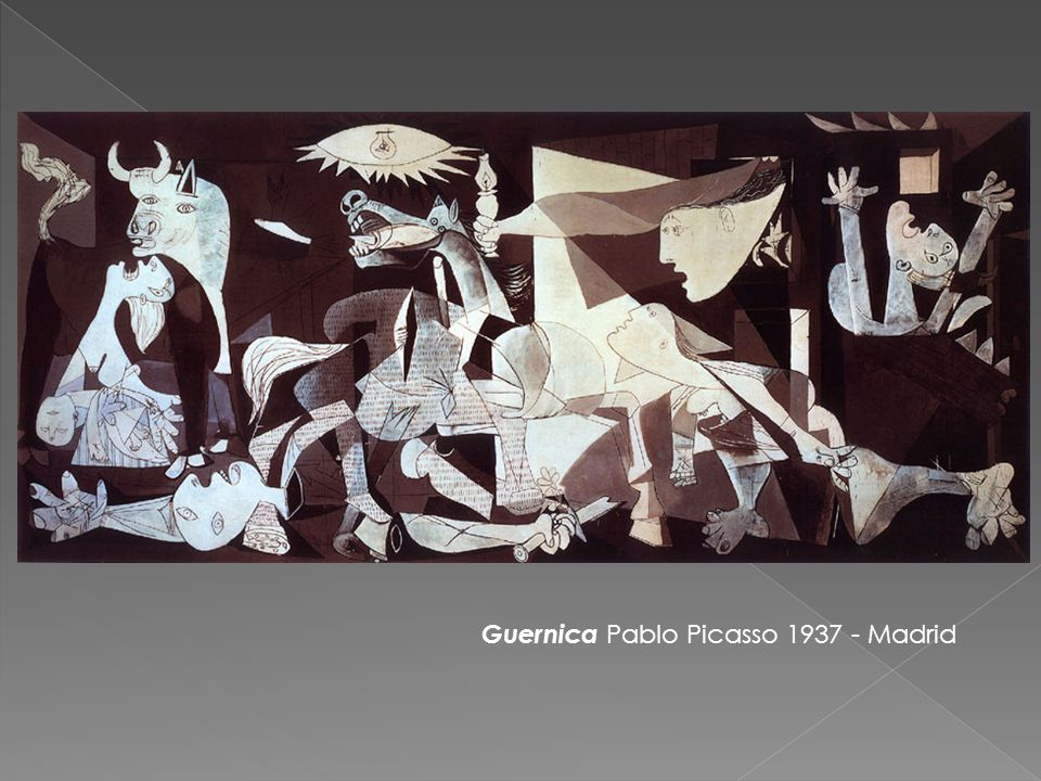 Guernica Pablo Picasso 1937 - Madrid
