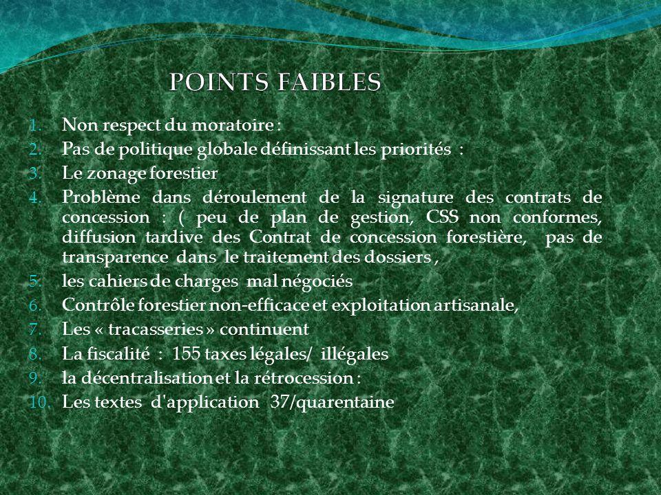Le code forestier de la RDC prévoit des permis de artisanaux.