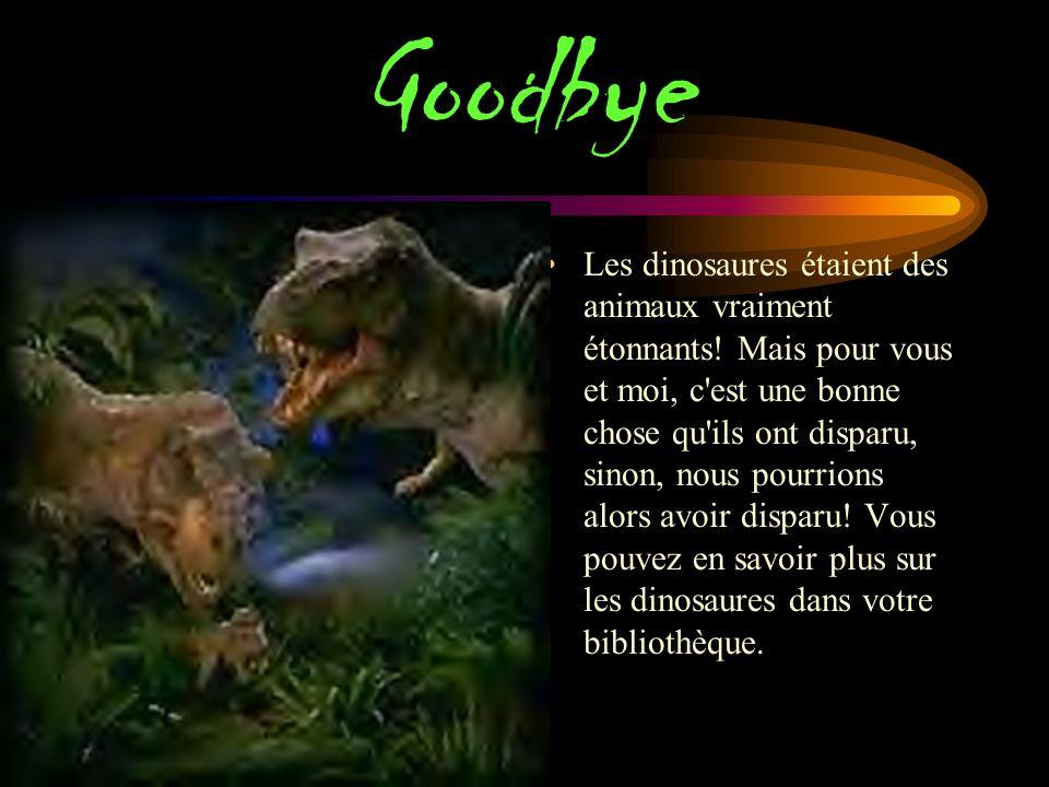Museum Vous pouvez voir ces fossiles de dinosaures dans les musées. Les scientifiques mettent les fossiles de retour ensemble pour vous de voir!