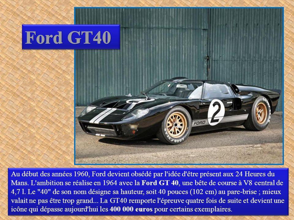 Lamborghini a enregistré les premières commandes de la Miura au salon de Turin en 1965...