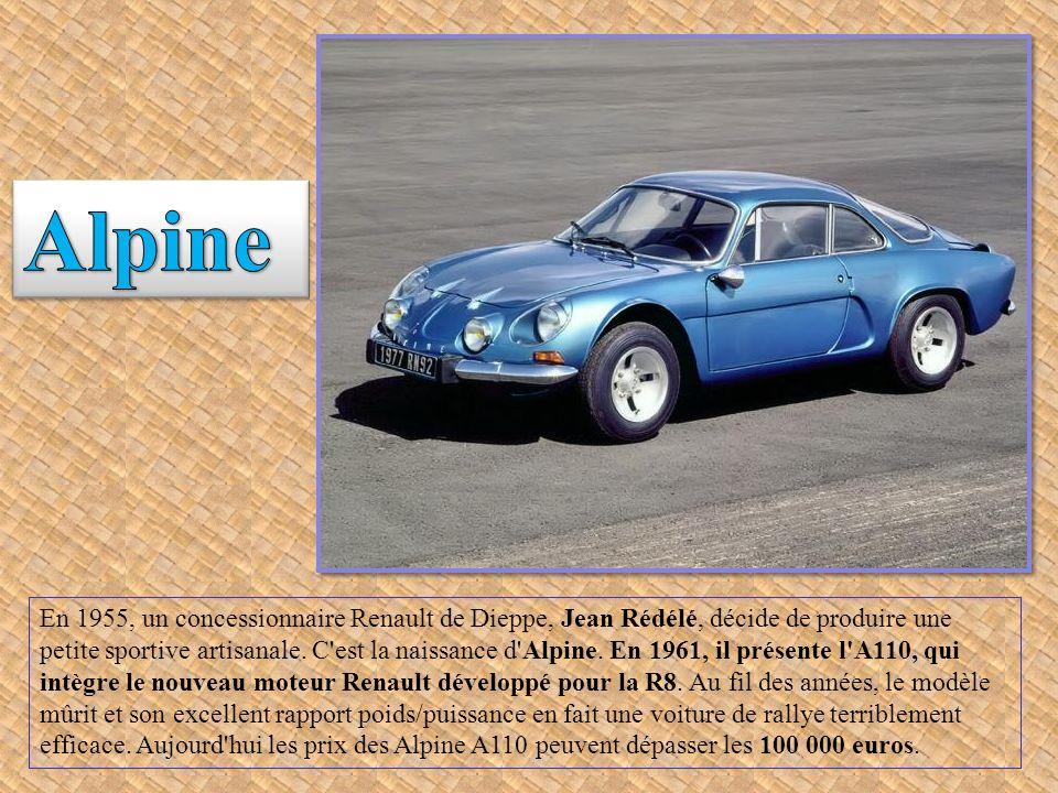 Ces voitures anciennes sont les modèles les plus prisés par les collectionneurs.
