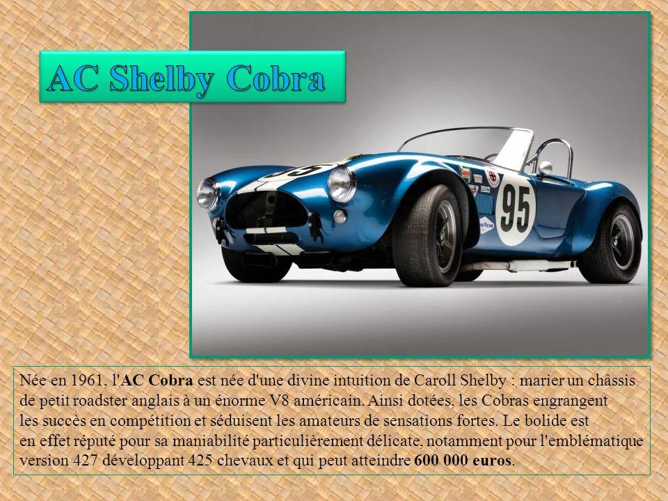 En 1954, Facel-Vega se lance dans la fabrication d un grand coupé luxueux et sportif afin de restaurer le prestige de la carrosserie française.