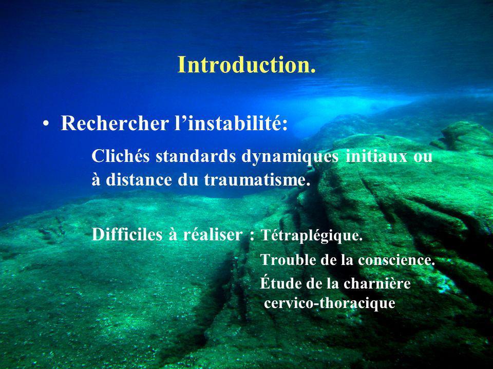 Introduction.LIRM dans les traumatismes médullaires.