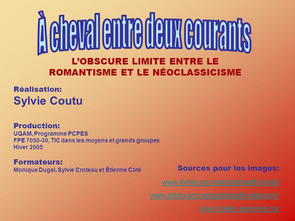 Réalisation: Sylvie Coutu Production: UQAM, Programme PCPES FPE 7050-30, TIC dans les moyens et grands groupes Hiver 2005 Formateurs: Monique Dugal, S