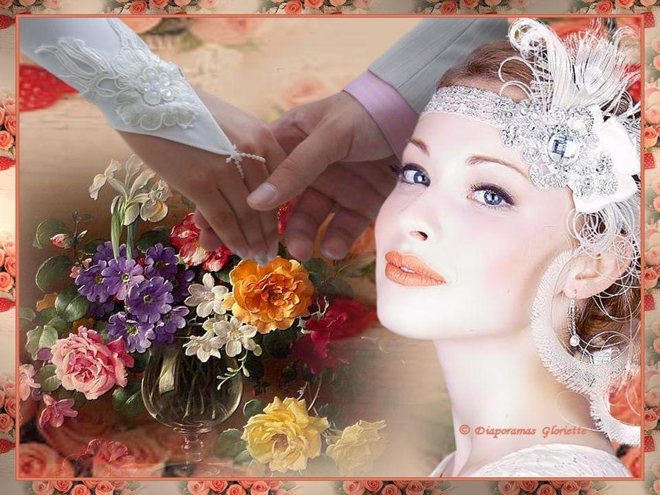 Depuis ce temps nous marchons main dans la main Notre amour sera toujours plus fort que le destin. Tu aimes les fleurs et pour toi elles se font radie