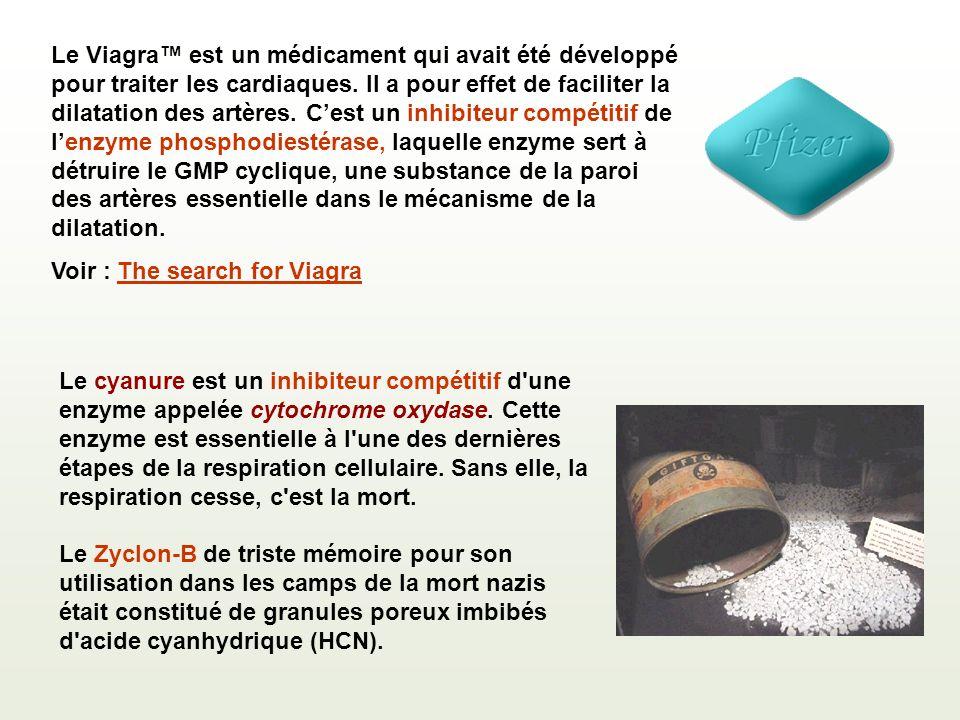 Le Viagra est un médicament qui avait été développé pour traiter les cardiaques.