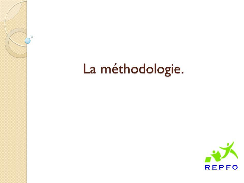 La méthodologie.