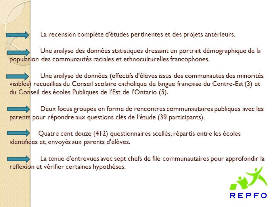 Recommandation un : Que les Conseils scolaires de langue française adoptent une stratégie proactive de rapprochement en renforçant la communication et la collaboration avec la communauté.