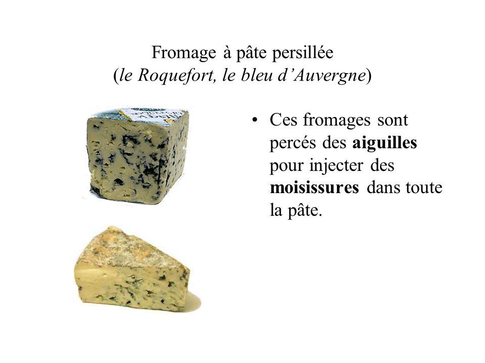 Le rituel du fromage