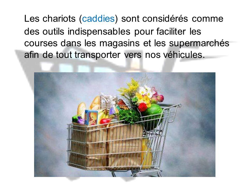 Les dangers des chariots des supermarchés Ne pas cliquer !...