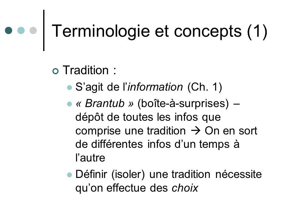 Terminologie et concepts (2) Multiplicité : Très proche de lidée de complexité (Même racine latine : Cf.