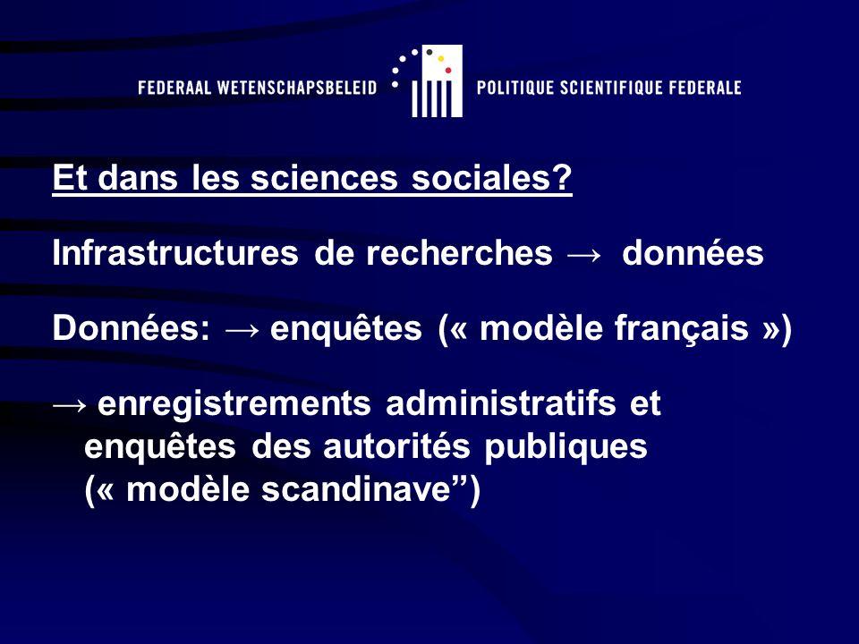 Et dans les sciences sociales.