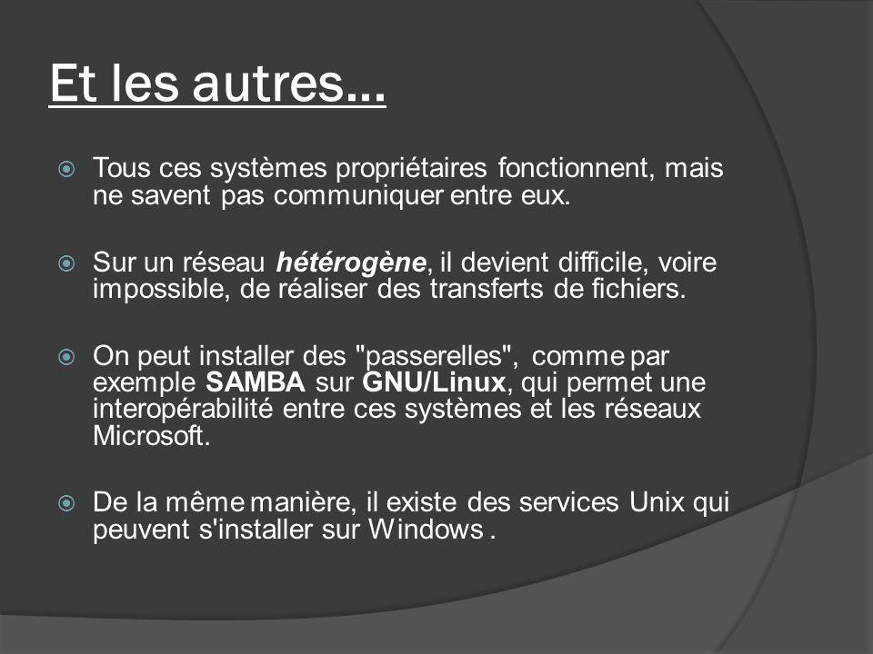 Le cas le plus classique Un client (utilisateur FTP) va se servir de ce protocole, pour faire du transfert de fichiers (upload ou download) avec un serveur (serveur FTP).