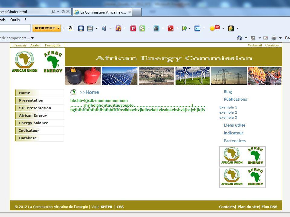III.4 Site web de lAFREC (suite)