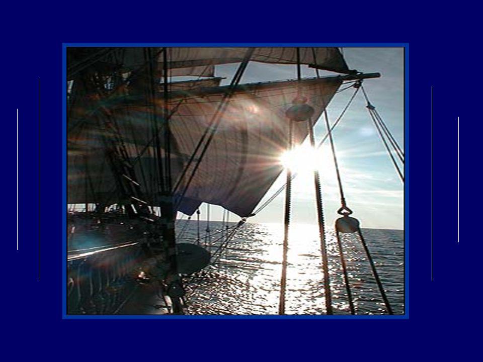 Tout sanime à léclat du lumineux monarque Qui surgit tout à coup de labîme mouvant; Et non loin de la rive une première barque, Comme un énorme cygne, ouvre sa voile au vent.